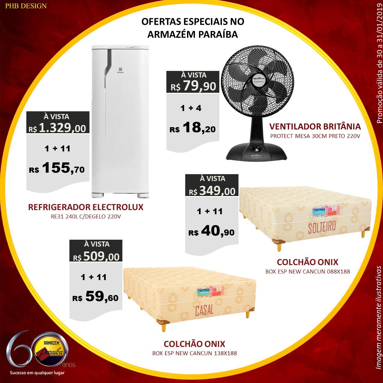 O Paraíba preparou ofertas com preço baixo de verdade. Somente nos dias 30  e 31 01 2019 ofertas com preços imperdíveis. Não fique de fora ea489d9b463